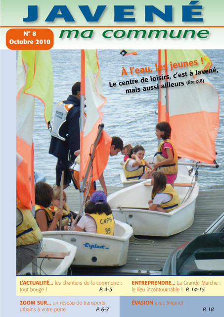 couverture journal octobre 2010